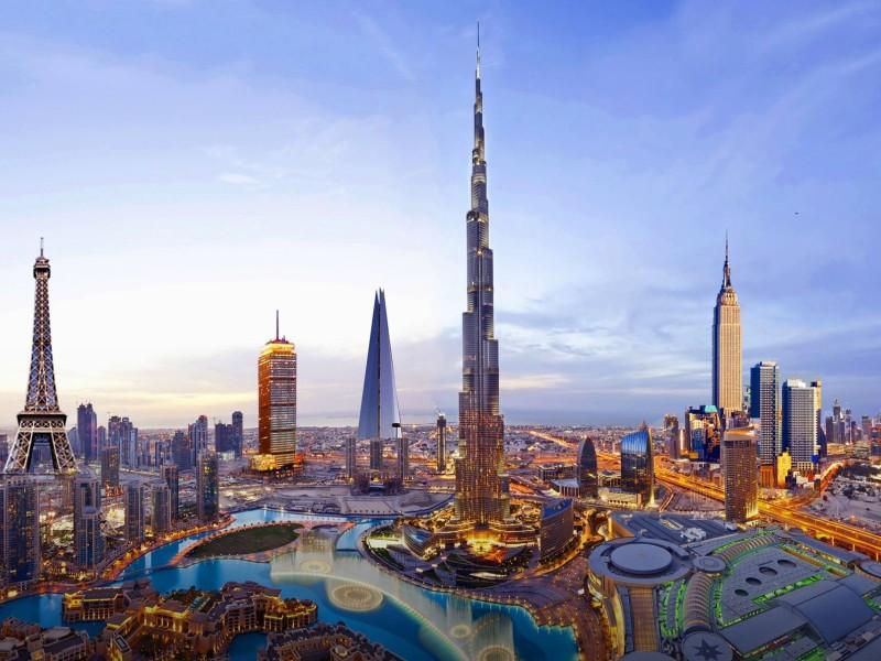Dubai (com guia espanhol)
