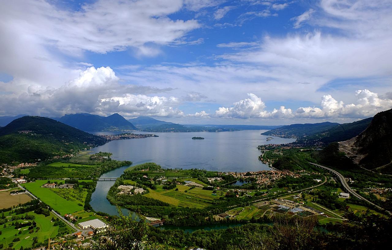 Lagos do norte da Itália com Eslovênia e Croácia (de Milão a Dubrovnik)