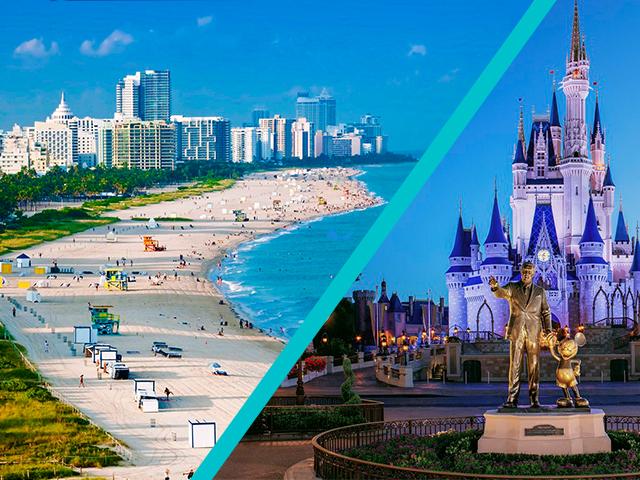 Miami e Orlando Fly & Drive