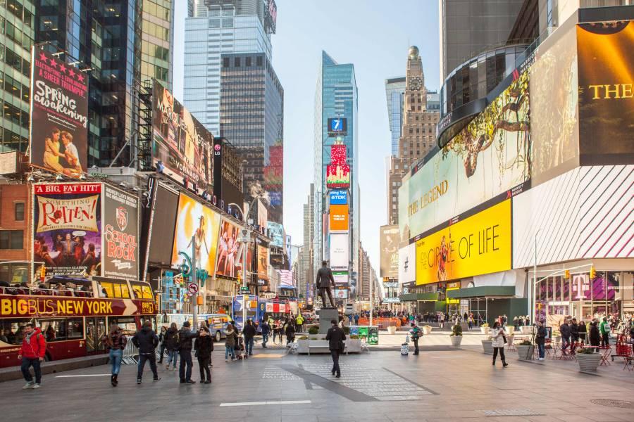 New York - Saída 16 de Janeiro - A partir de US$ 1534,00