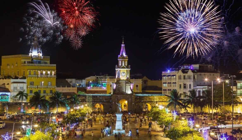 Réveillon 2020 em Cartagena e Bogotá