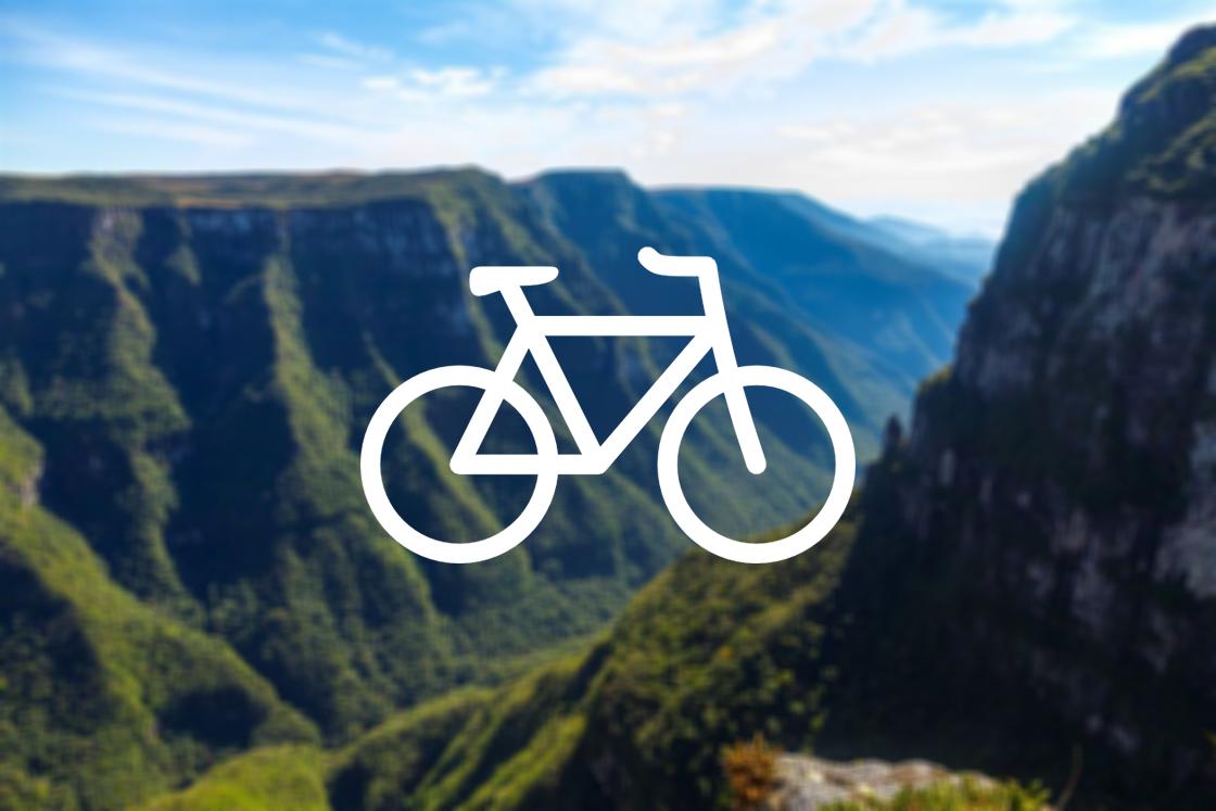 Cânions do Sul de Bicicleta