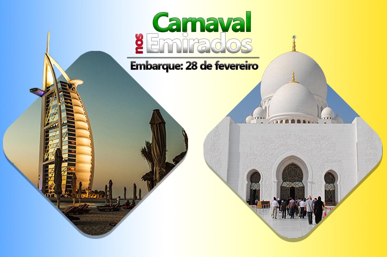 Carnaval nos Emirados - Dubai e Abu Dhabi