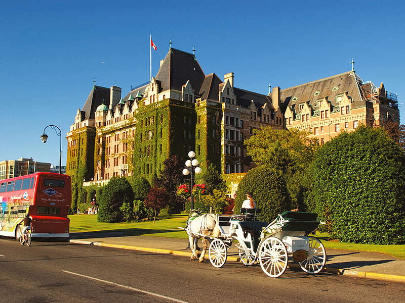 Vancouver, Whistler e Victoria.