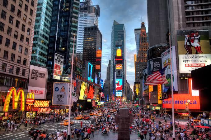 Caminho a New York