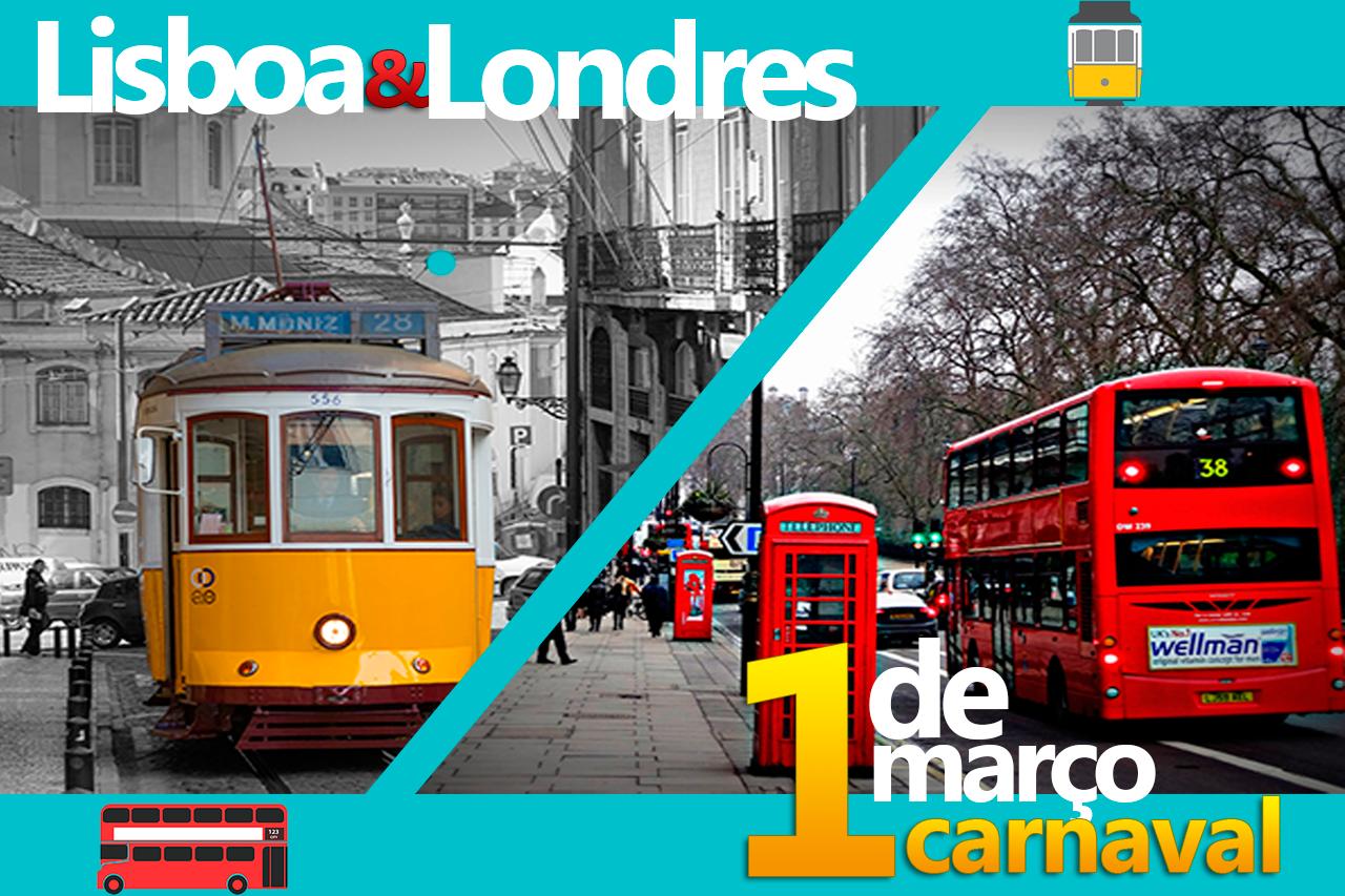 Carnaval em Lisboa & Londres - 1 de Março