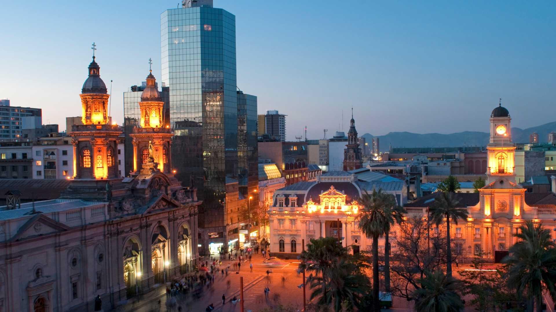 Santiago - Voando LATAM